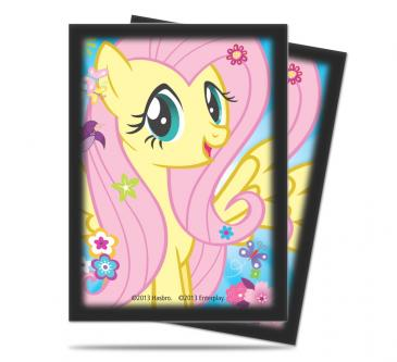 My Little Pony Deck Protector Sleeves - Fluttershy 65ct