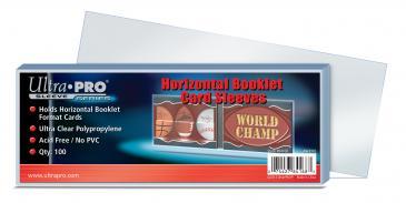 Horizontal Booklet Card Sleeves