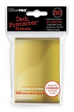 50ct Gold Standard Deck Protectors