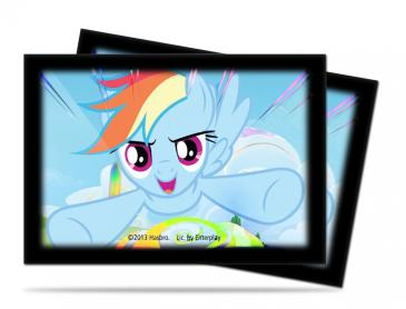 My Little Pony Small Size Deck Protector Sleeves - Rainbow Dash 60ct