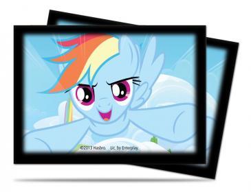 My Little Pony Deck Protector Sleeves - Rainbow Dash 65ct