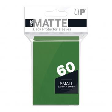 60ct Pro-Matte Green Small Deck Protectors