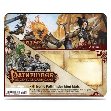 Pathfinder Adventure Card Game: Rise of the Runelords Expansion Mini Mat 4 Pack