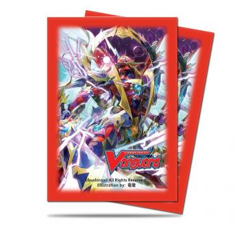 Small Deck Protectors for Cardfight!! Vanguard 55ct - The Blood
