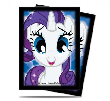 My Little Pony Rarity Deck Protector Sleeves - 65ct