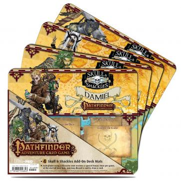 Pathfinder Adventure Card Game: Skull & Shackles Expansion Mini Mat 4 Pack
