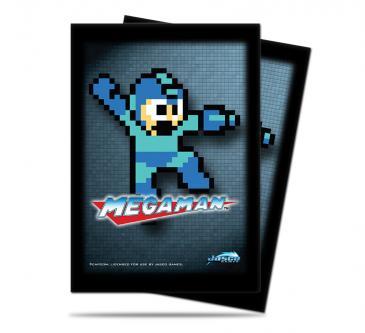 Megaman Deck Protector 50ct - 8-Bit
