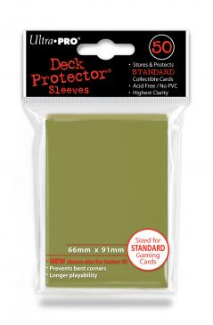 50ct Metallic Gold Standard Deck Protectors