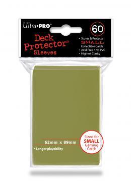 60ct Metallic Gold Small Deck Protectors