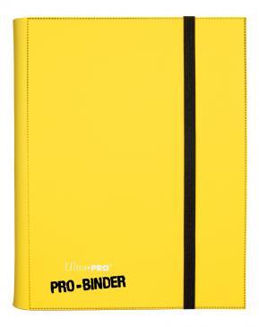 9-Pocket Yellow PRO-Binder