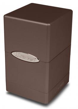Metallic Dark Chocolate Satin Tower
