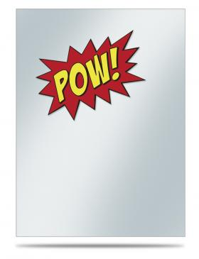 Gamers: POW! Sleeve Covers 50ct