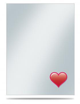 Emoji: Heart Standard Sleeve Covers 50ct