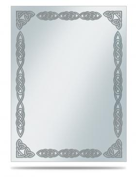 Borders: Silver Celtic Sleeve Covers 50ct
