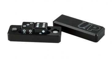 D6 - 2 Dice Set Gravity Dice - Black