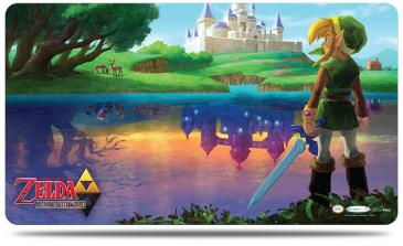 The Legend of Zelda - A Link Between Worlds Playmat with Playmat Tube