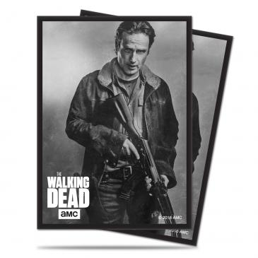 The Walking Dead Deck Protector Sleeves - Rick 50ct