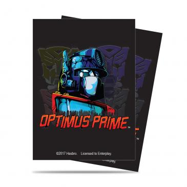 Transformers Optimus Deck Protector sleeves 65ct