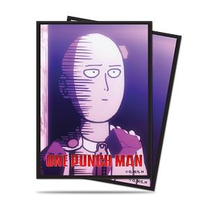 "One-Punch Man: Saitama \""Okay\"" Deck Protector Sleeves Std. 65ct"