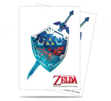 The Legend of Zelda: Sword and Shield Deck Protector sleeves 65ct