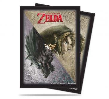 The Legend of Zelda: Twilight Princess Deck Protector sleeves 65ct