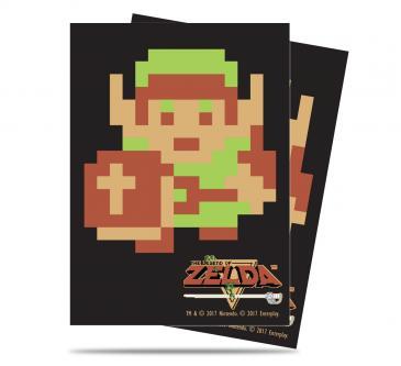 The Legend of Zelda: 8-Bit Link Deck Protector sleeves 65ct