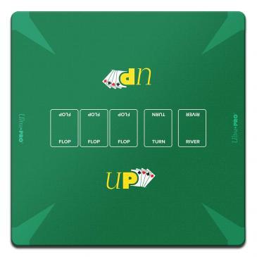 """Poker Playmat - 24\"""" x 24\"""""""