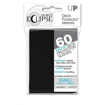 PRO-Matte Eclipse Black Small Deck Protector sleeves 60ct