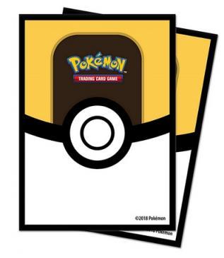 Ultra Ball Deck Protector Standard sleeve 65ct Pokémon