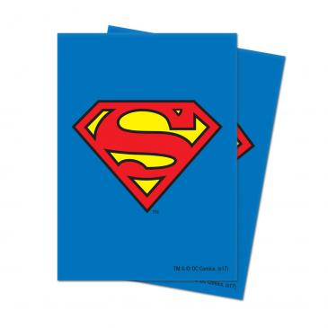 Justice League: Superman Deck Protector Sleeves 65ct