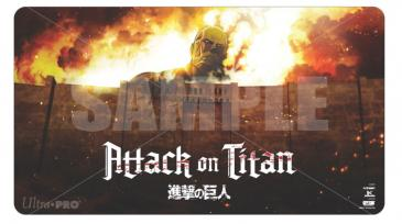 Attack on Titan Playmat - The Beginning