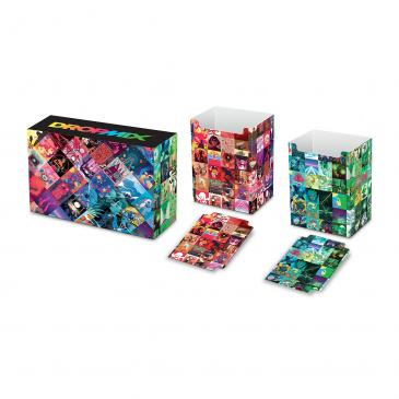 DropMix Magnetic Dual Deck Box with matching dividers