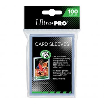 """2-1/2\"""" x 3-1/2\"""" Antimicrobial Card Sleeves"""
