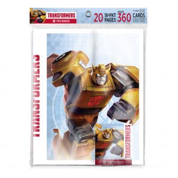 Transformers PRO Binder for Hasbro