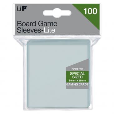 Lite Board Game Sleeves 69mm x 69mm  100ct