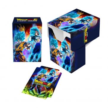 Dragon Ball Super Full-View Deck Box - Goku, Vegeta, and Broly