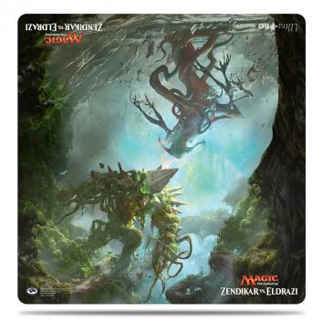 "Zendikar vs Eldrazi Duel Decks 24"" x 24\"" Duel Playmat for Magic"