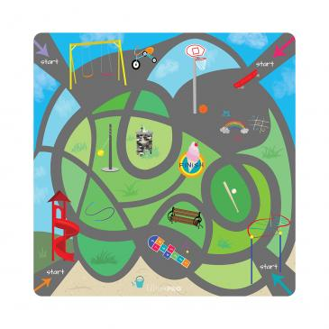 Playground Maze Imagination Playmat