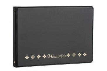 Horizontal Photo Album Black