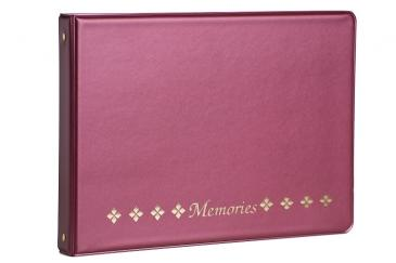 Horizontal Photo Album Wine