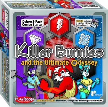 Killer Bunnies Odyssey Starter Combo Heroic & Azoic