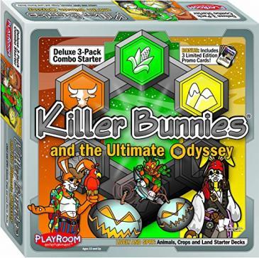 Killer Bunnies Odyssey Starter Combo Lively & Spry