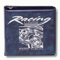 """3\"""" Blue Racing Album"""