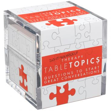 TableTopics: Do-It-Yourself Therapy
