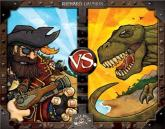 Pirates vs Dinosaurs - A fun & treacherous treasure hunting game