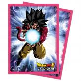 Dragon Ball Super Standard Size Deck Protector sleeves 65ct. Super Saiyan 4 Goku
