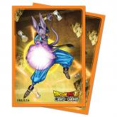Dragon Ball Super Standard Size Deck Protector sleeves 65ct. Beerus