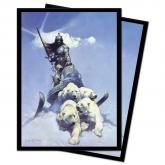 Silver Warrior Standard Size Deck Protectors by Frank Frazetta 100ct