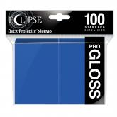 Eclipse Gloss Standard Sleeves: Pacific Blue