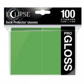 Eclipse Gloss Standard Sleeves: Lime Green